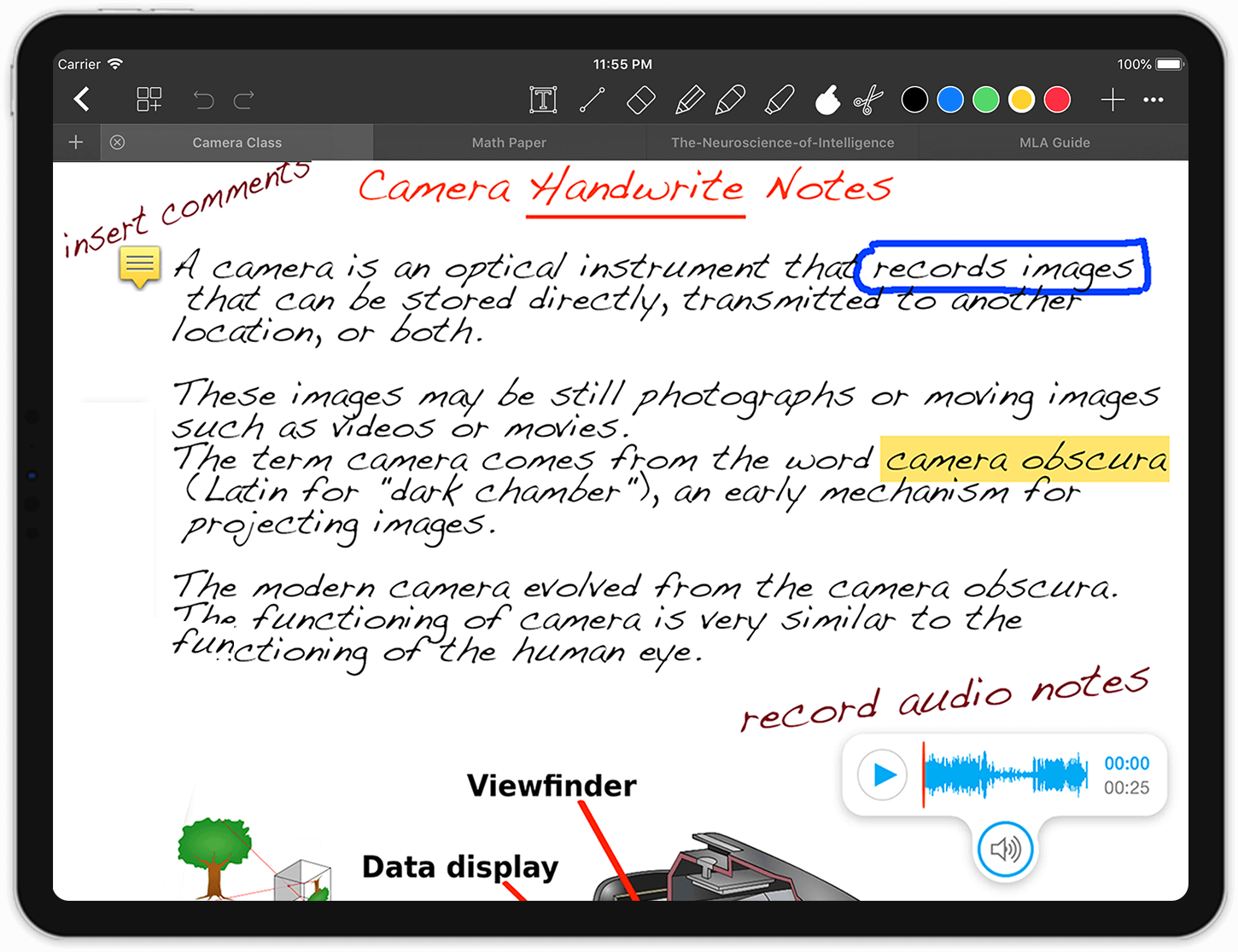 Notes Writer: Create and edit